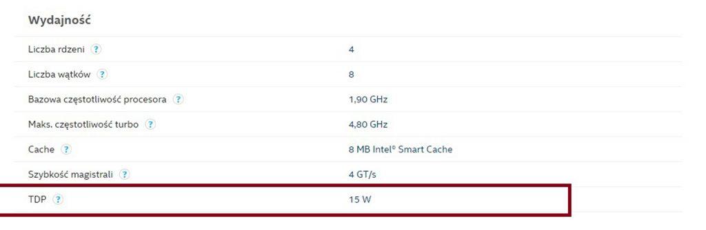 Laptop do2000 - porównanie procesorów