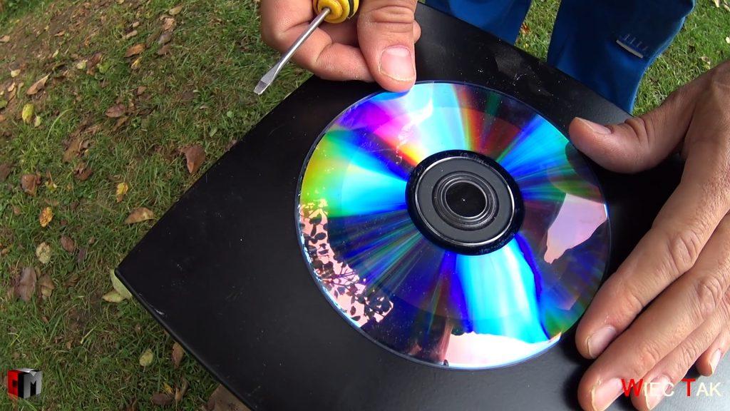 modyfikacja obudowy - wymiar przy użyciu płyty CD